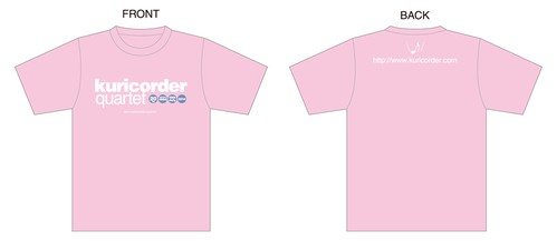 Tシャツ no.3 ポップ(ピンク)