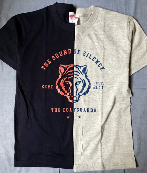 THE COASTGUARDS / THE SOUND OF SILENCE TIGER Tシャツ