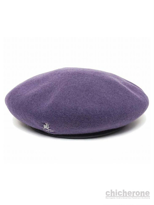 【KANGOL】SMU Wool Big Monty Blackberry