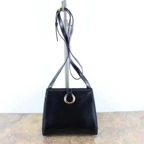 .LOEWE RING DESIGN LEATHER SHOULDER BAG MADE IN SPAIN/ロエベリングデザインレザーショルダーバッグ2000000054681
