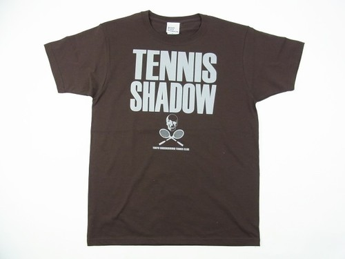 TENNIS SHADOW Tee チョコレート TS-104
