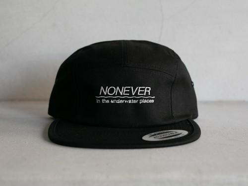 NONEVER JET CAP / BLK