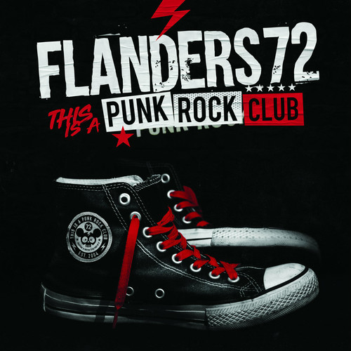 """flanders 72 / this is a punk rock club 12"""" on RED vinyl"""