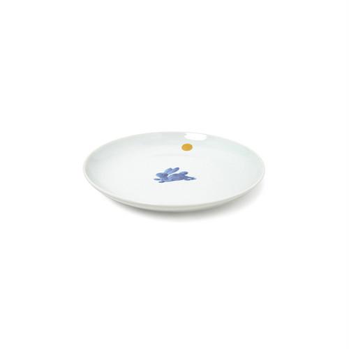 金彩月兎4.5寸丸皿
