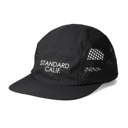 STANDARD CALIFORNIA #SD Coolmax Stretch Ripstop Camp Cap Black