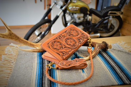 Riders Long Wallet type Carvng Fullset