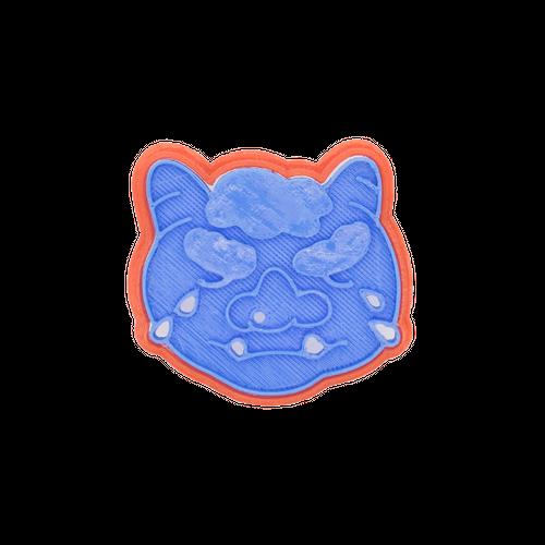 クッキー型:鬼の目にも涙