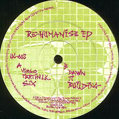 "R. HONSBEEK / N. HERES / Re-Humanise EP (12"")"