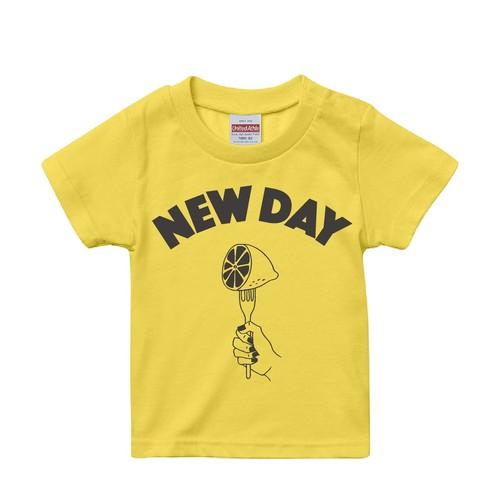【NEW DAY】Kids T-Shirt 親子でペアルック