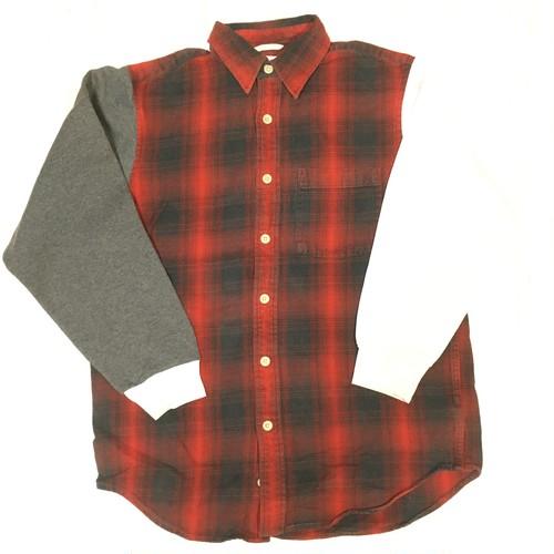 5dime ヘビーネルシャツ×スウェットシャツ