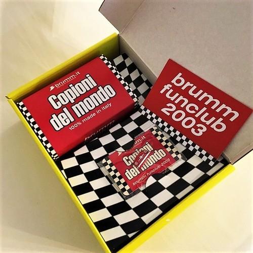 ZB02C BOX brumm funclub 2003 FIAT nuova 500 1/43【1個のみ】 【税込価格】