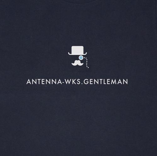 GENTLEMAN Tシャツ/ネイビー【CWE-097NV】