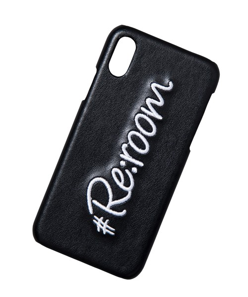EMBROIDERY LOGO iPhoneXS MAX CASE[REG093]