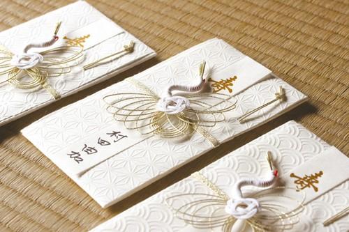 美濃和紙吉祥和紙「白雲(hakuun)」祝儀袋