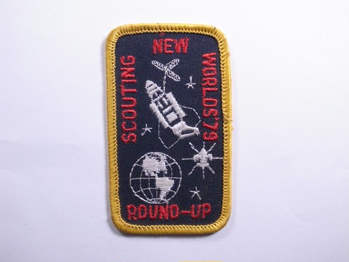 "PATCH""SCOUTING NEW WORLD'S 79"""