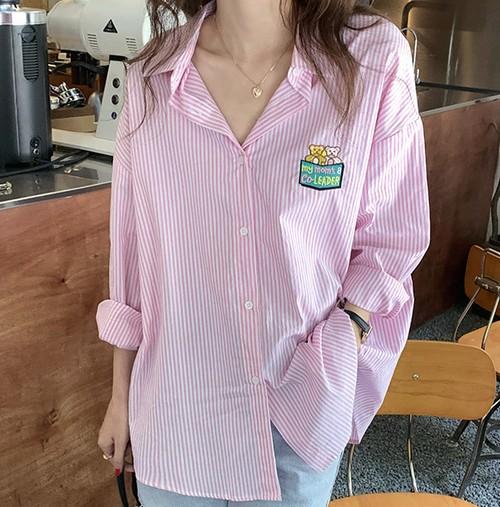 【送料無料】 クマちゃんlogoシャツ 全2色・U28812