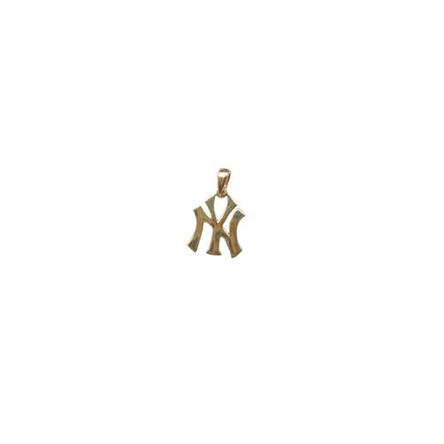 【14K-3-14】14K real gold NY charm