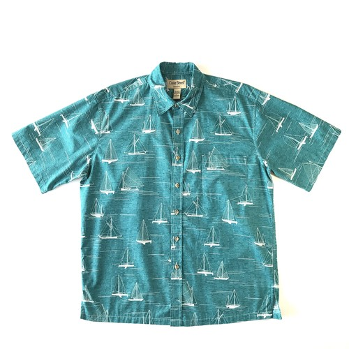 USEDアロハシャツ / クックストリート / size L
