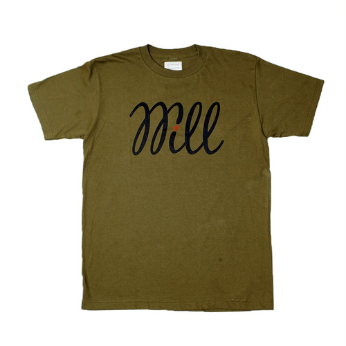 WILL BASIC LOGO TEE (OLIVE)