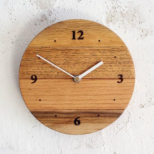 【限定品!100年前の古材使用】φ200壁掛け時計C