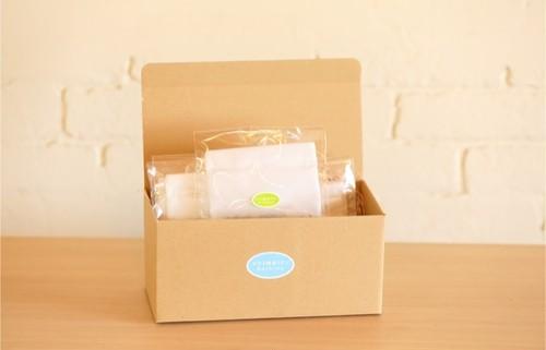 ひのき酵素+よもぎ温浴パック(ギフトBOX 5袋入り)