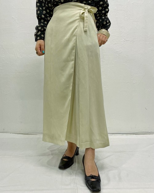 (PAL) wrap long skirt