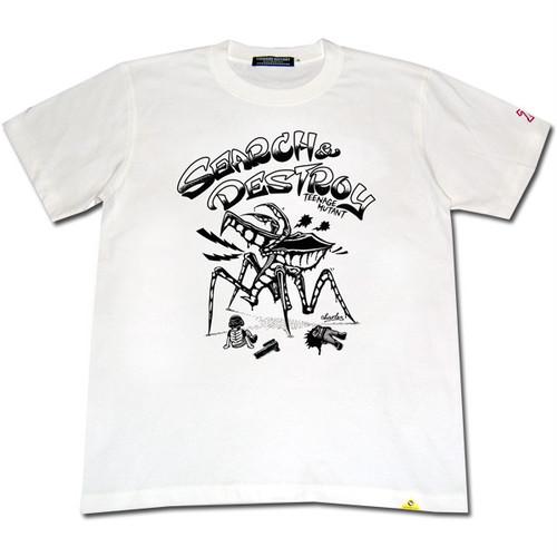 DESTROY BUGS Tシャツ 【ホワイト】