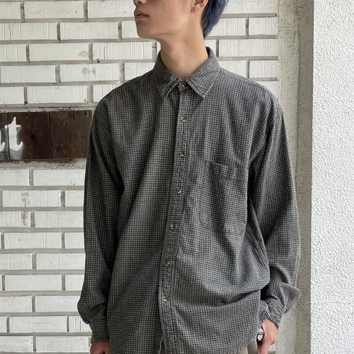 USED COTTON L/S SHIRT