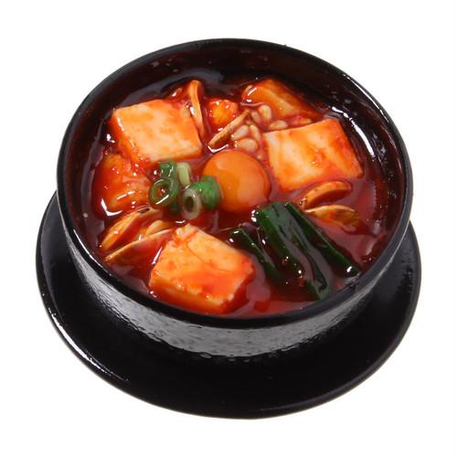 [0500]食品サンプル屋さんのマグネット(スンドゥブチゲ)【メール便不可】