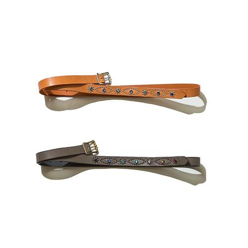 EFFECTEN/エフェクテン narrow long belt(studs type)