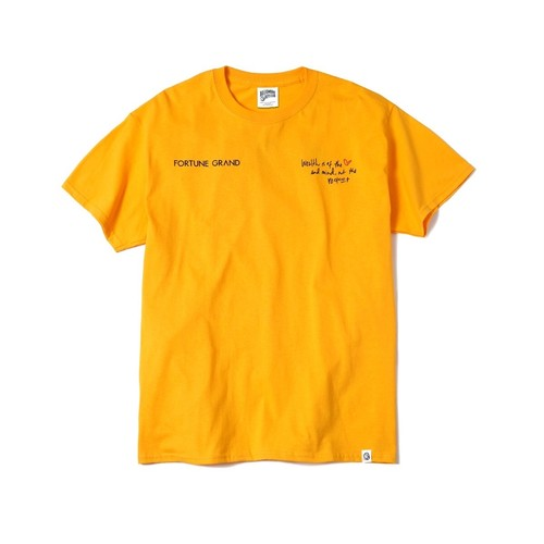 See Me Now T-Shirts (Yellow)¥5,000(+tax)