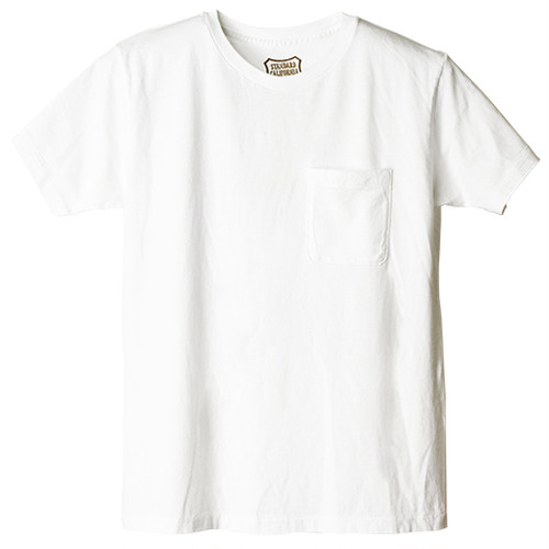 STANDARD CALIFORNIA スタンダードカリフォルニア SD Shield Logo Pocket T Crew Neck