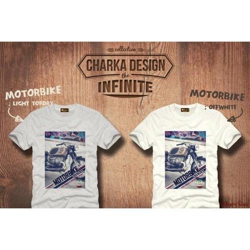 Motorbike Art Printing T-Shirts