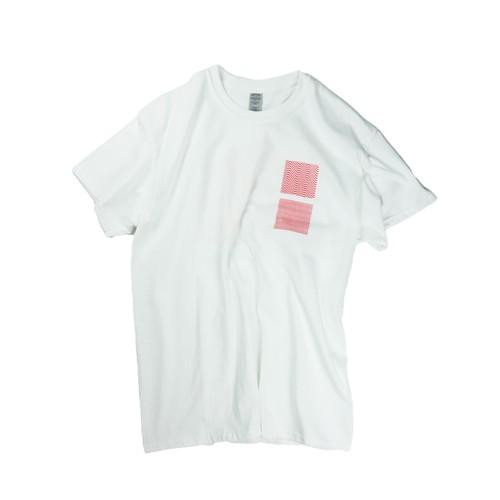 Tatsuya Hirayama / tAt / Shirt Sleeve T / White / Red