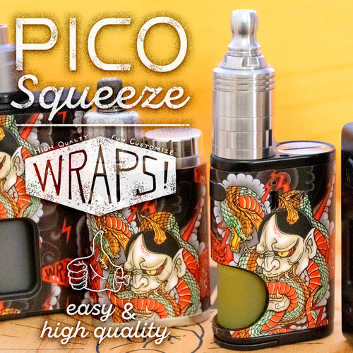 WRPAS! for iStick Pico Squeeze New 5 colors