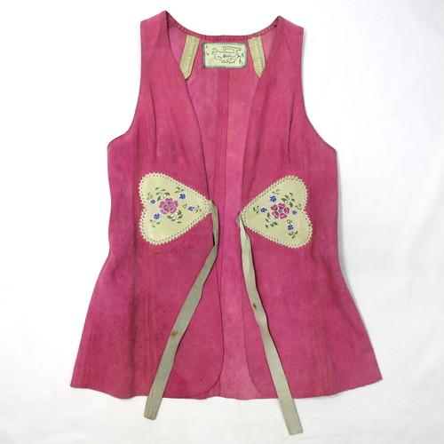 1970's Char VINTAGE Leather Vest (チャーレザーベスト)
