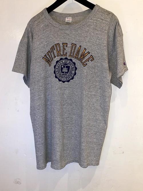 CHAMPION カレッジプリントTシャツ