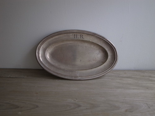 oval plate / france
