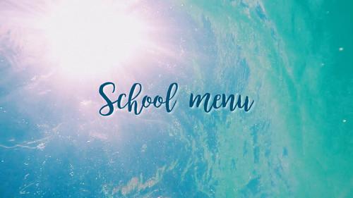 ◇Hibis◇school menu