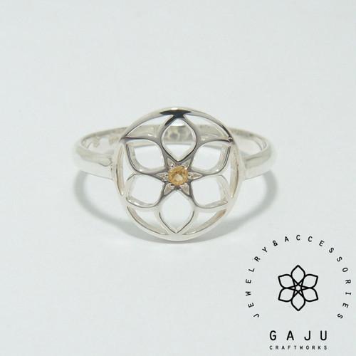 gajuvana ring (circle・シトリン)