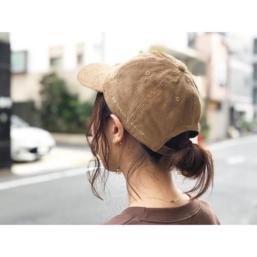 【コーデュロイタイプ】NO BANANA,NO LIFE キャップ