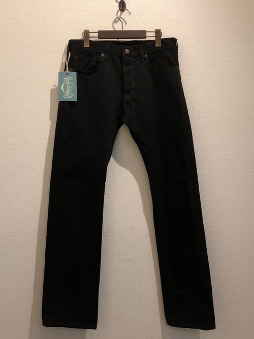 TIGHT STRAIGHT JEANS (BLACK) / LOST CONTROL