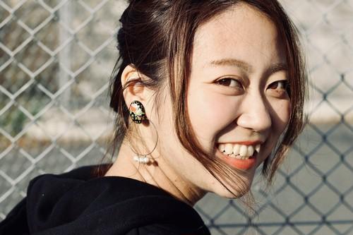 【1点もの】2way rose × pearl