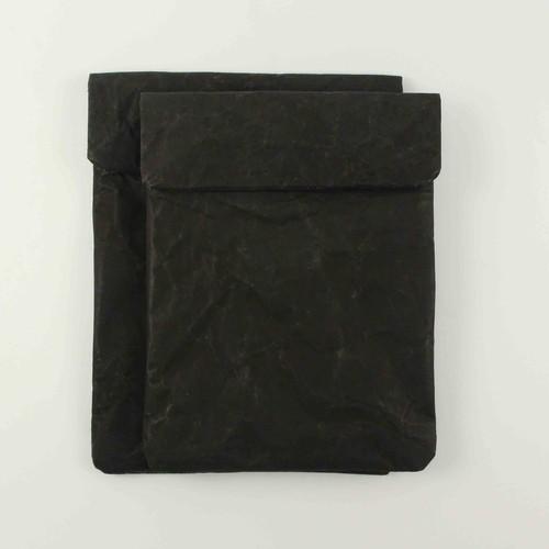 リサイクルペーパー iPadタブレットケース 【黒】ショルダーバッグにも