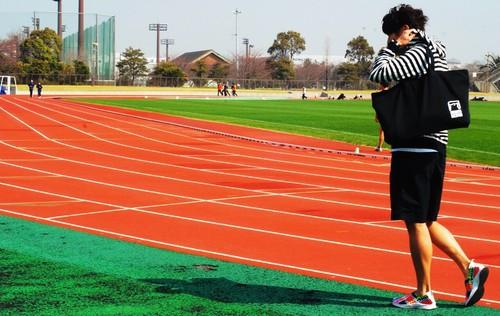 ARIGATO OKUMA ジップトートバック