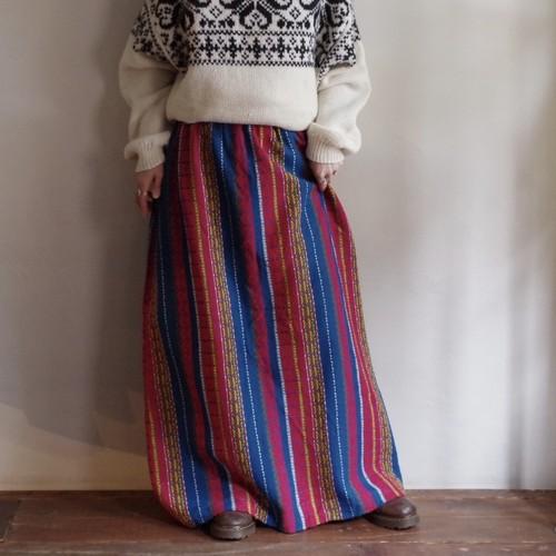 Woven pattern Skirt / 織柄 スカート