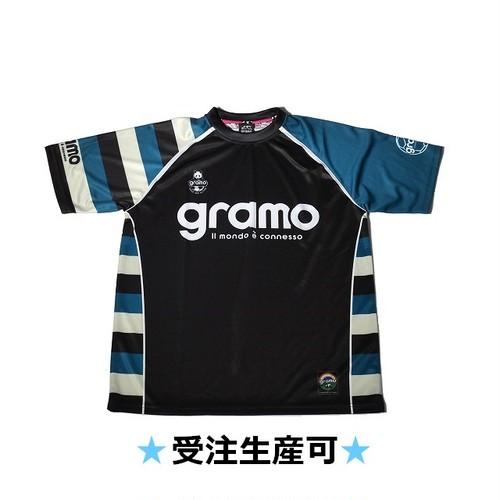プラクティスシャツ「FLAG」(ブラック/P-019)☆受注生産可☆