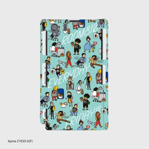 スマホケース ROOM810 Android(Xperia)