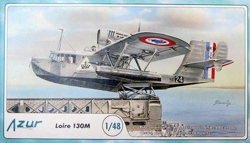 アズール 1/48 フランス海軍艦載機・ロワール 130M 飛行艇 AZ48051