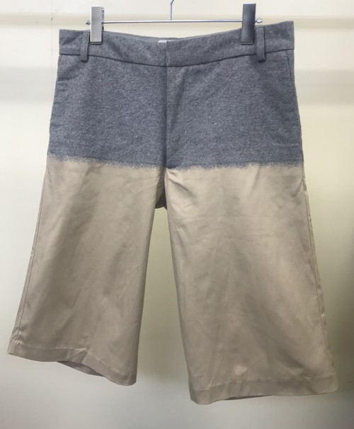 SS2013 SHAUN SAMSON NEEDLE PUNCHING FABRIC SHORTS